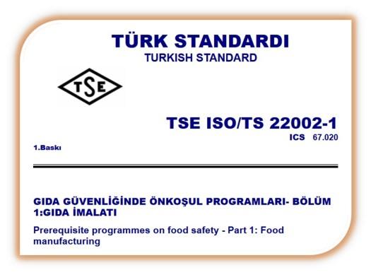 ISO 22002 Ön Gereksinim Programları