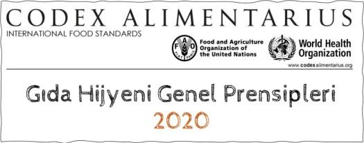 Gıda Hijyeni Genel Prensipleri 2020
