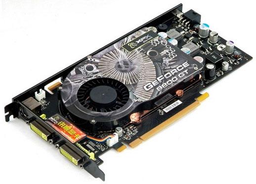 Photo XFX GeForce 9800 GT