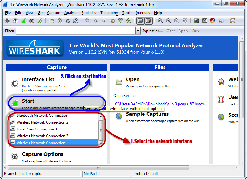 Wireshark Tutorial: Password & Network Sniffer - Chapter 11