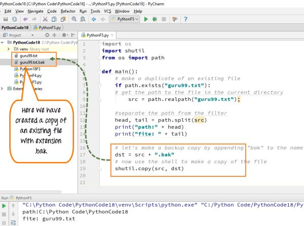 Python COPY File using shutil.copy(), shutil.copystat()