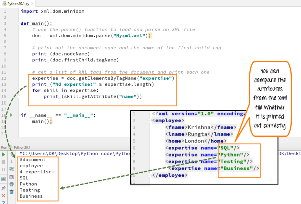 Python XML Parser Tutorial: Read xml file example(Minidom ...