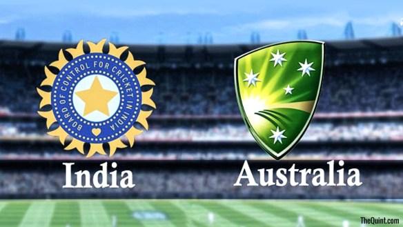 India Australia HC
