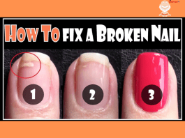 HOW TO FIX A BROKEN NAIL   REPAIR YOUR SPLIT NAILS EASY STEP BY STEP TECHNIQUE FOR BEGINNERS