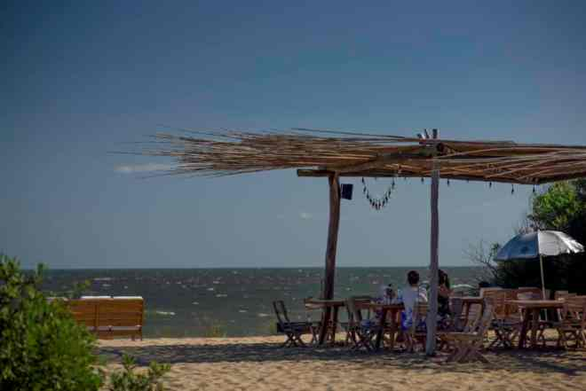 Don't drink and drive in Uruguay - stay on the beach instead