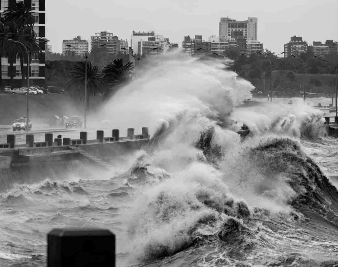 Storm in Montevideo by Jimmy Baikovicius