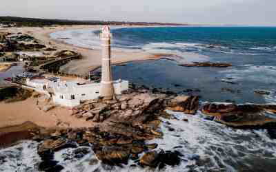 José Ignacio – a billionaire playground with valet parking signs in the sand