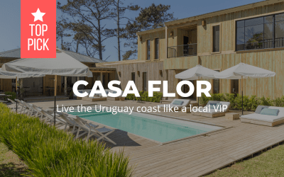 Casa Flor - viva a costa do Uruguai como um local (VIP)