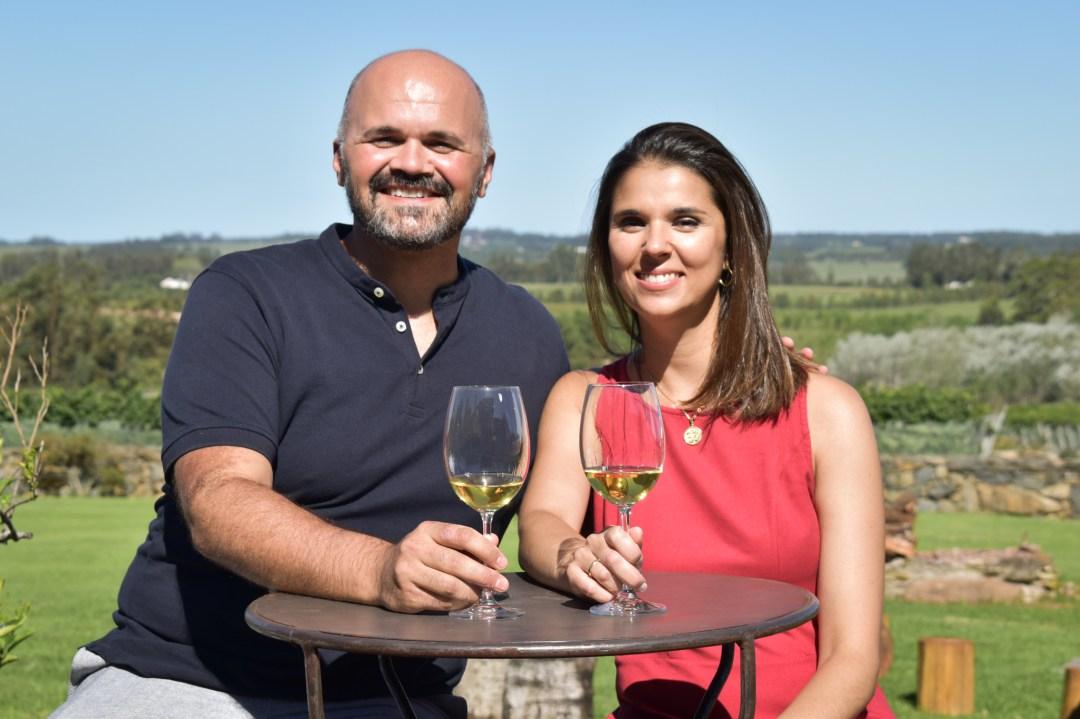 Uruguay Wine Explorers - Veronica and Tavis