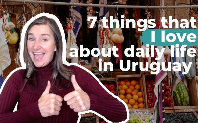 7 cosas que me encantan de la vida diaria en Uruguay