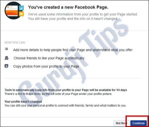 Facebook Profile to Page Conversion