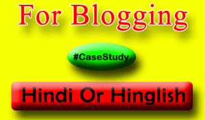 Hindi Vs Hinglish