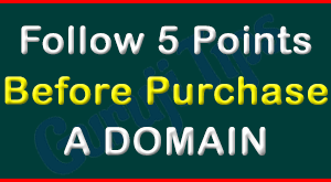 How To Purchase a Domain