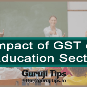 Effect of GST on Education