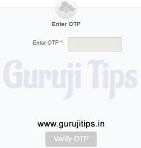 Verify OTP