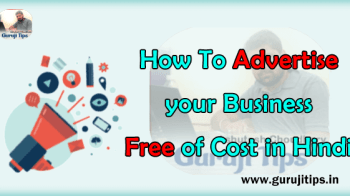 free advertising tips