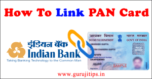link pan with indian bank