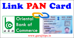 link pan with obc bank