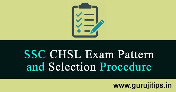 ssc chsl exam pattern