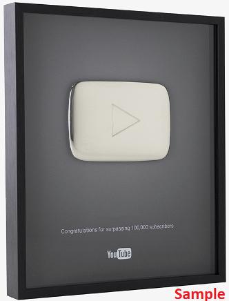 YouTube Silver Button