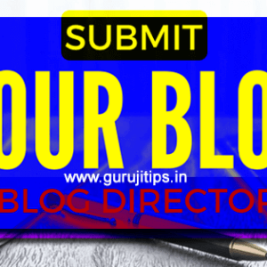 submit hindi blog