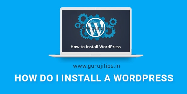wordpress installation tutorial in hindi