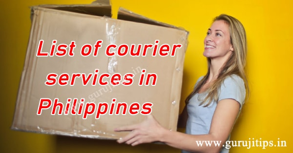 List of courier services in Philippines