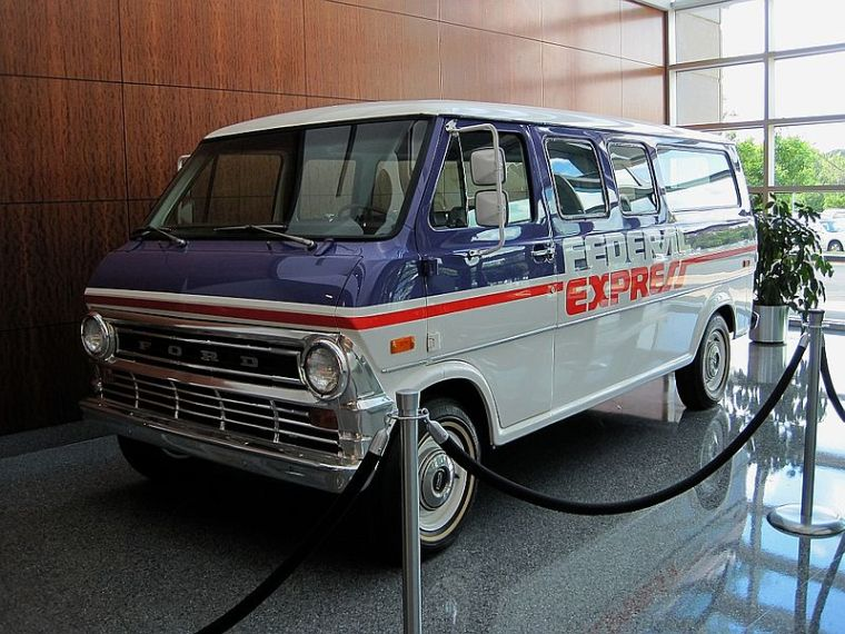 fedex first van