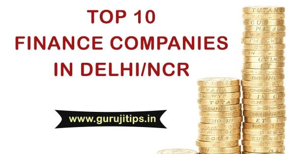 top financial companies in delhi