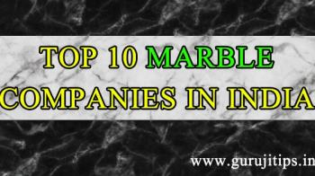 top 10 marble company in india