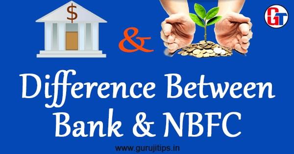 nbfc and bank