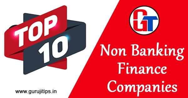 top 10 nbfc companies