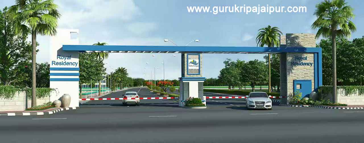 Royal Residency Jaipur Residential Township Plots at Main Ajmer Road