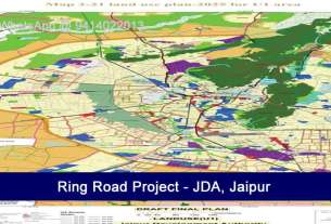 Ring Road Jaipur 50 mtr to 1250 mtr Jda Approved Plot on Ring Road
