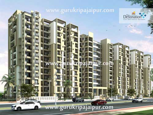 SDC The Destination Jaipur 2, 3 BHK Apartments Gandhi Path West Jaipur
