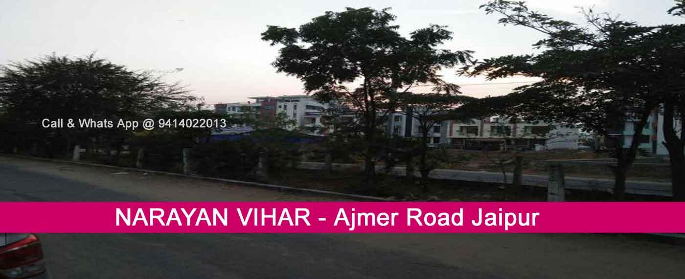 Narayan Vihar Jaipur Jda Approved Plots Flat Houses for Sale Ajmer Road