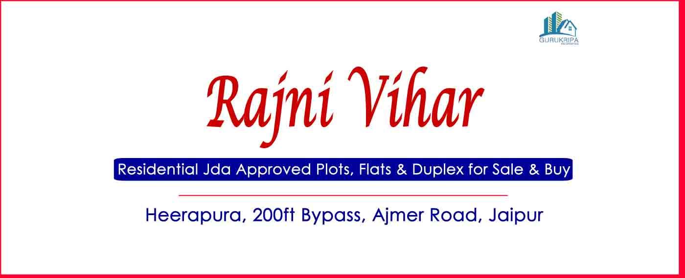 Rajni Vihar Colony Plots & Houses for Sale Heera Pura Ajmer Road Jaipur