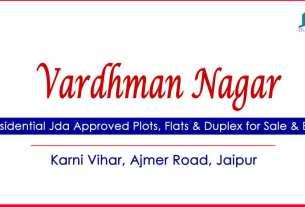 Vardhman Nagar Plots for Sale Karni Vihar Heerapura Ajmer Road Jaipur