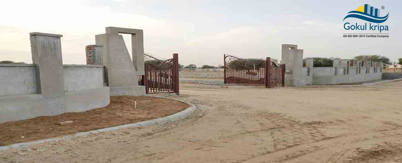 100 Gaj Plot @ 15,95,000 Only on Gandhi Path West Vaishali Nagar Extn.
