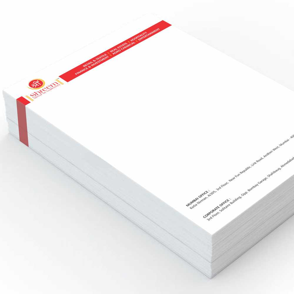 letterhead-100gsm