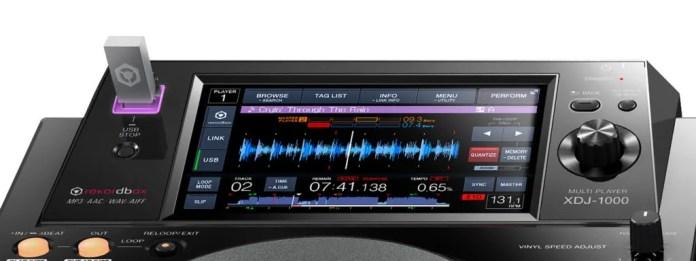 XDJ-1000-USB-LCD