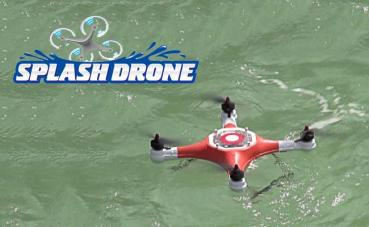 A Splash Drone le encanta la playa
