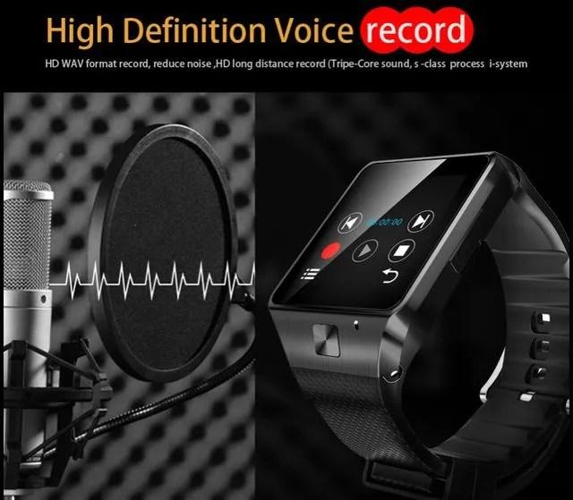 smartwatch-GV08s-grabar-sonido
