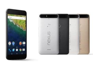 Nexus 6P llega a España con un precio de 650 €