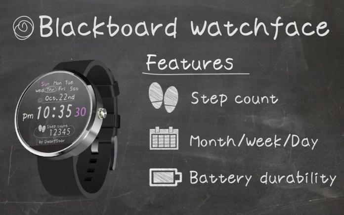Blackboard-Watchface