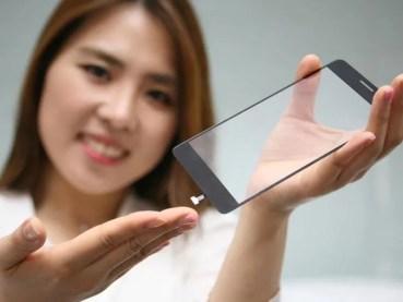 ¡LG incluirá el sensor de huellas detrás de la pantalla!
