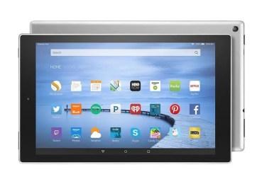 Fire HD 10, la nueva tablet de Amazon fabricada en aluminio