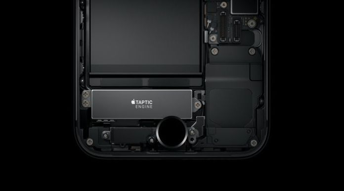 el iphone 7 háptico