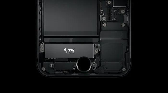 el iphone 7 háptico