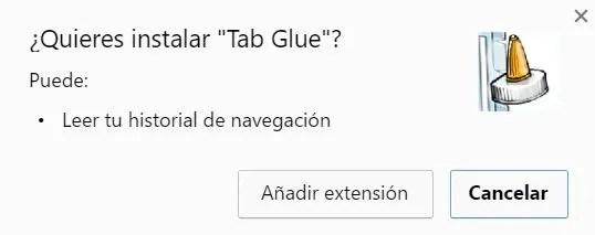 tab glue